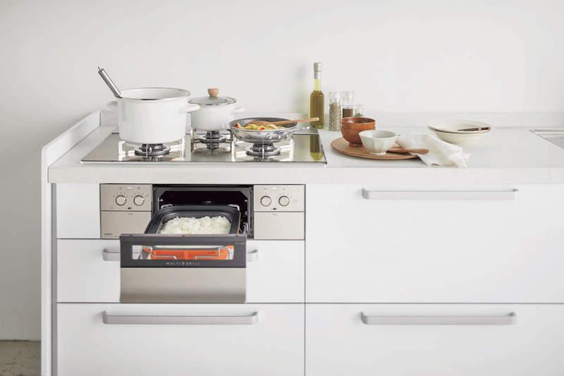 システムキッチンはオリジナルのキッチンスタイルを実現可能に!