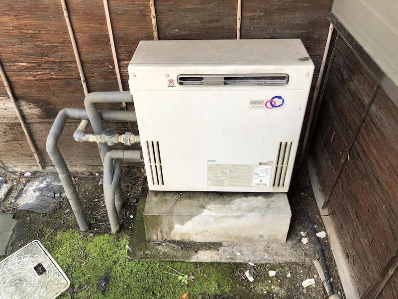 ガス給湯器は外置きタイプなら一部までDIYが可能